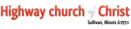 Highway Church of Christ Logo